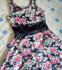 Намалено цветно фустанче