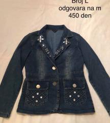 Jeans palto NAM 400 den