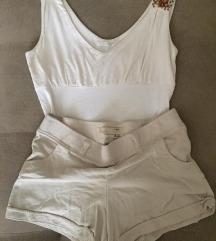 Bershka шорц и блуза Caliope