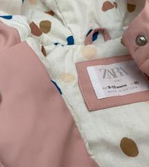 Zara бебешки raincoat
