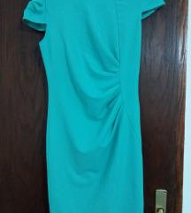 Mentol Boja eleganten fustan