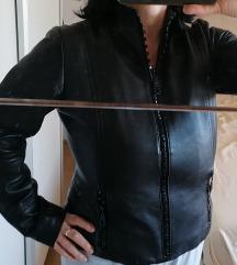 Мона кожна јакна со сваровски патент