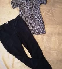 Pantaloni +kosula bershka L