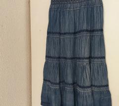 Nova gipsy - boho dolga suknja L