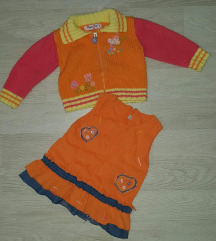 Комплет џемпер и фустанче