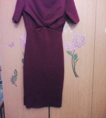 Bordo fustan H&M