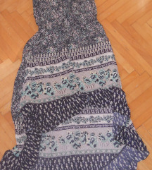 Asimetricen  fustan vel M/L-300 den