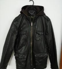 *4500*Maska kozna jakna ZARA br.L Namalena