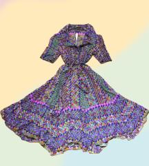 Уникатен шарен фустан / Unikaten sharen fustan