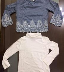 H&M 4-6g najmoderni damski bluzi organski pamuk
