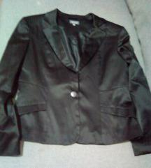 Crno sjajno sako