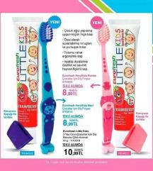 Детска четка за заби + паста
