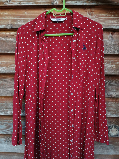 U.S. POLO Assn. нова кошула/фустан