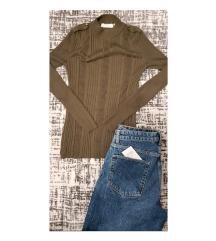 H&M џемпер со украсни копчиња
