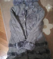 Zajacka krznena bunda