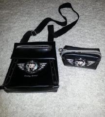 Betty Boop orginal kozna torba so novcanik komplet