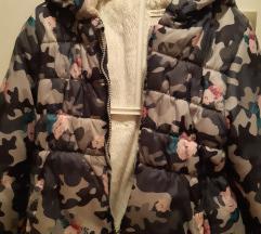 Topla jakna za devojce 3-4 g
