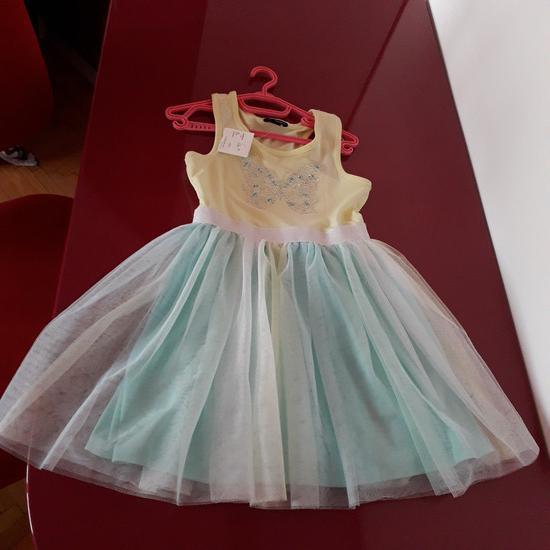 Novo fustance so tulce