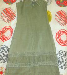 Maslinest fustan S