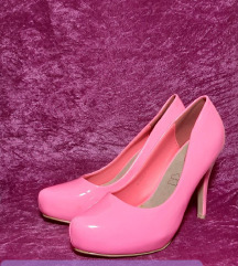 Неон розеви штикли
