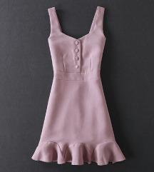 fustance dusty pink boja