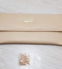Плик чанта кремаста