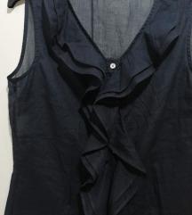 Црна памучна кошула