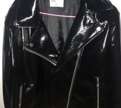 lateks crna jakna
