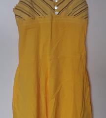 Жолто фустанче