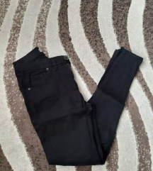 Visok struk crni pantaloni