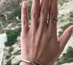 Set alka+prsten od medincki celik