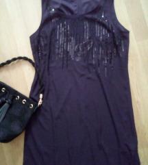 Eleganten nov crn fustan*namalen