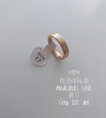 Prsten D&G od medicinski celik