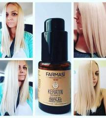 Кератин серум за здрава и сјајна коса