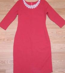 Crven fustan br.40