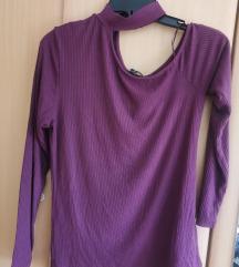 moderna bluza  vo vishna boja