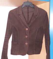 Темно кафеаво сако