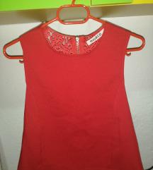 Kratka crvena bluzicka