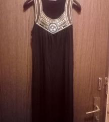 Nov dolg crn fustan  xl/xxl denes za 700