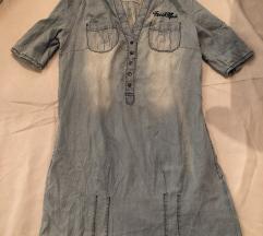 Jeans tirolka/ fustan POPUST 350 den