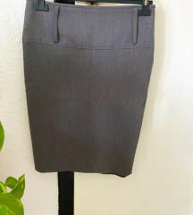 Сукња висок струк