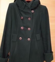 Темнозелено палто