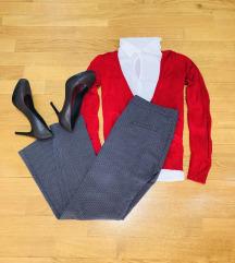 Карол принт/пепито панталони бр. 36