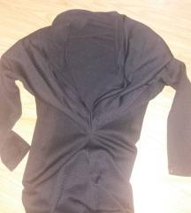 Нов црн долг фустан
