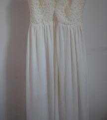 Нежно бело фустанче