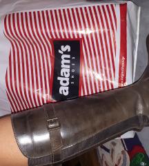 Кожни кафеави чизми