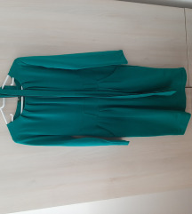 Фустан до колена памук со ликра