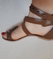 Кожни сандали + ГРАТИС кошула