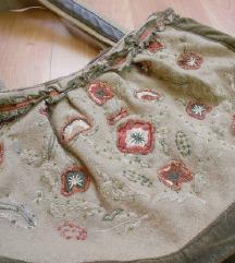 Golema plisana torba