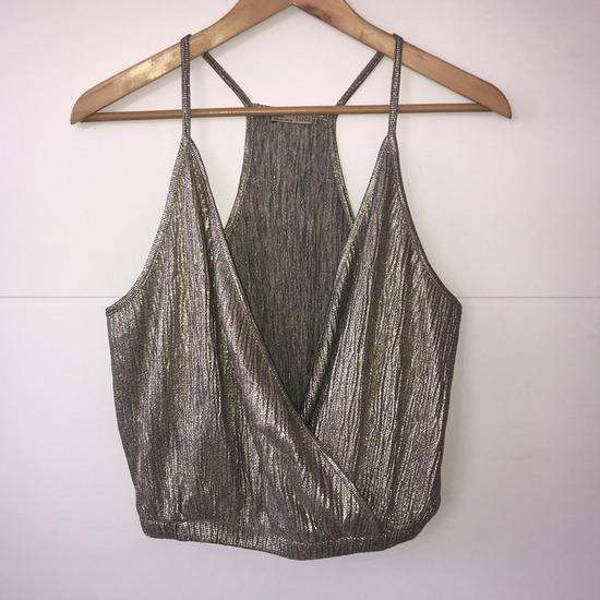 Zara кроп маичка